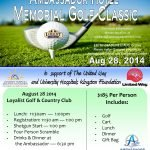 Image: 34th Annual Ambassador Golf Poster