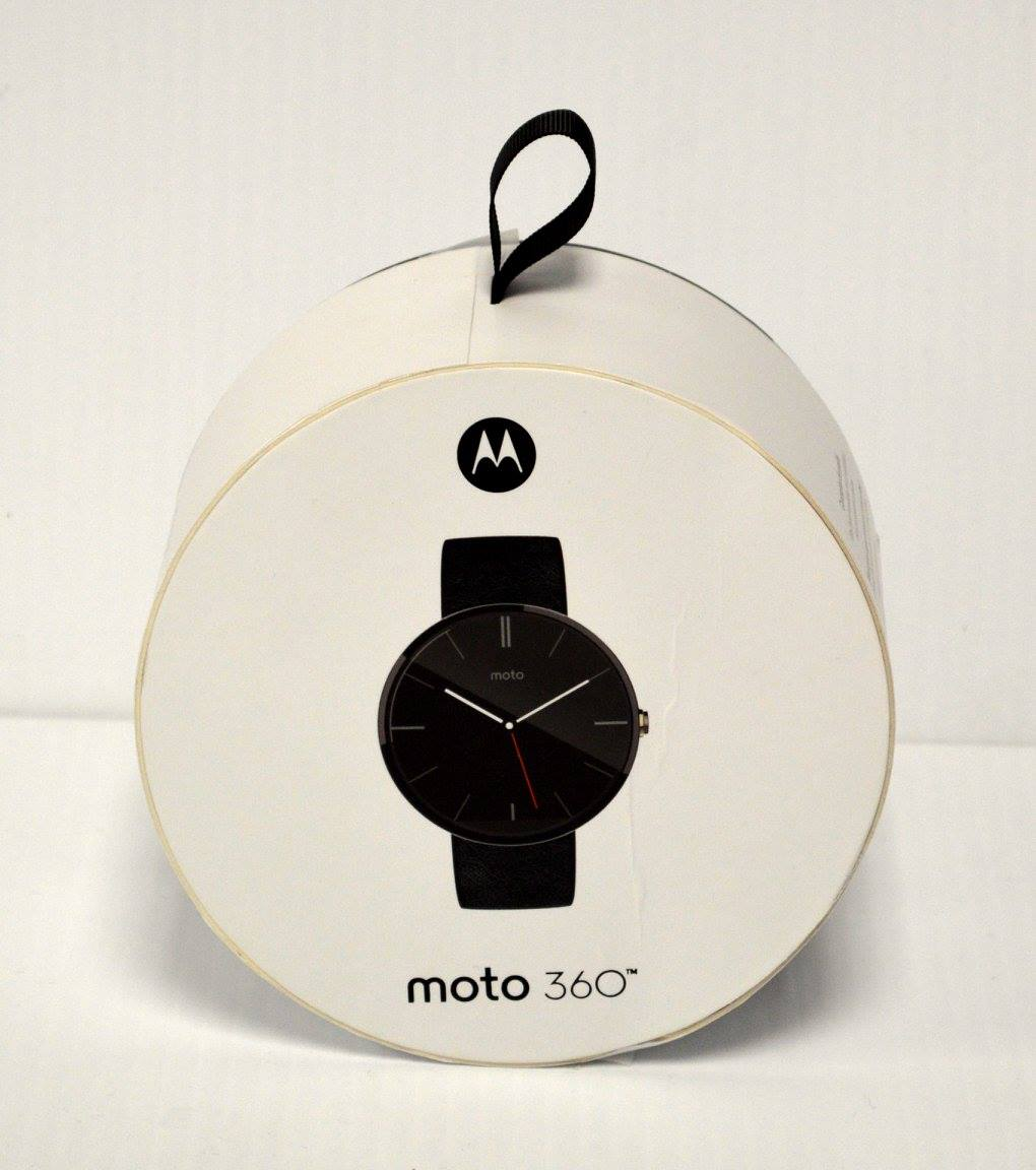 Moto 360 Digital Watch Donated by Computer Depot
