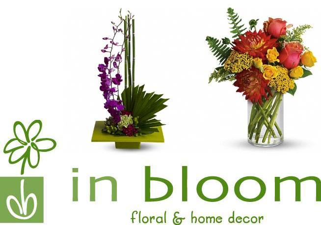 Floral Arrangements Donated by In Bloom
