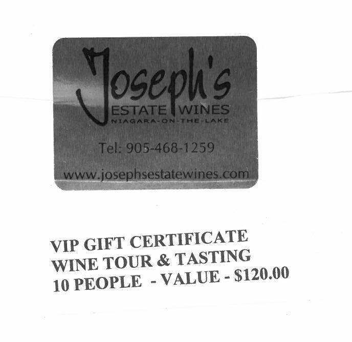 Wine Tour & Tasting Donated by Joseph