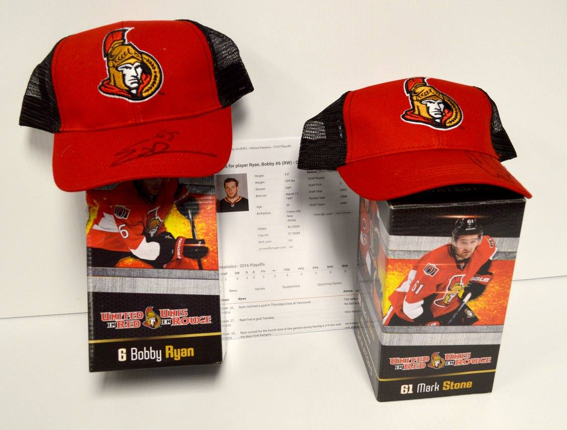 Senators Gift Package Donated by Ottawa Senators