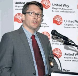 United Way 2018 Chair Fred Godbille