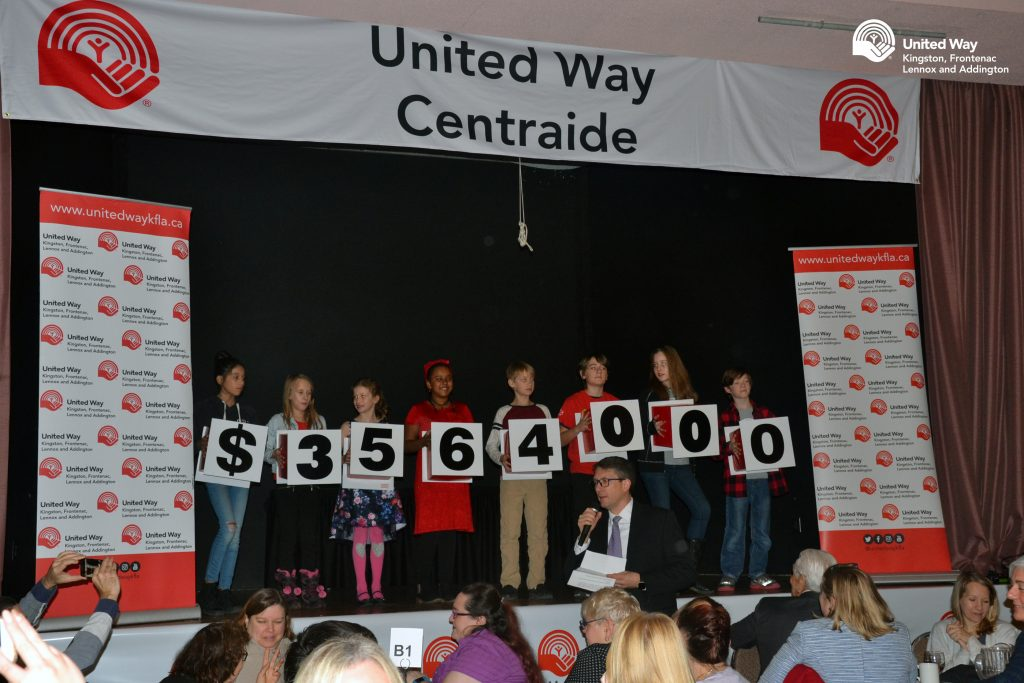 United Way KFLA Total Raised