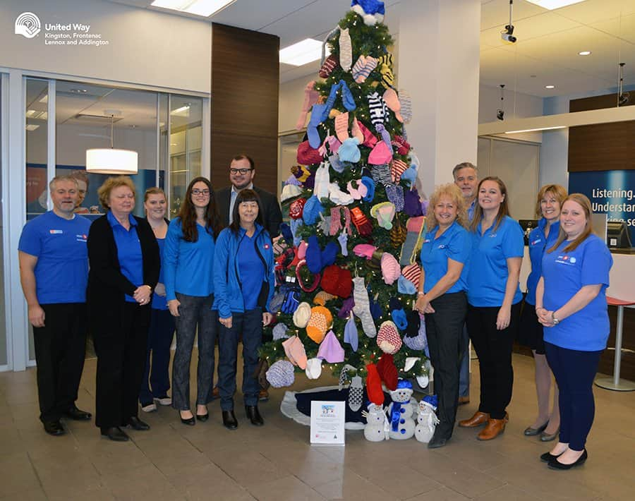 Bank of Montreal Gift of Warmth Tree